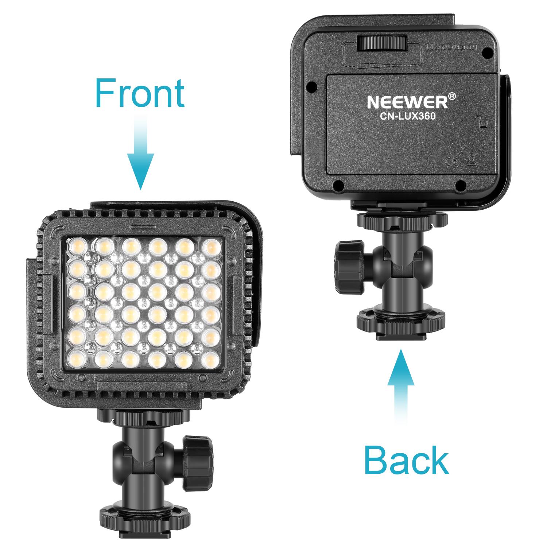 neewer 36 led videoleuchten video licht lampe f r dslr kamera dv camcorder ebay. Black Bedroom Furniture Sets. Home Design Ideas