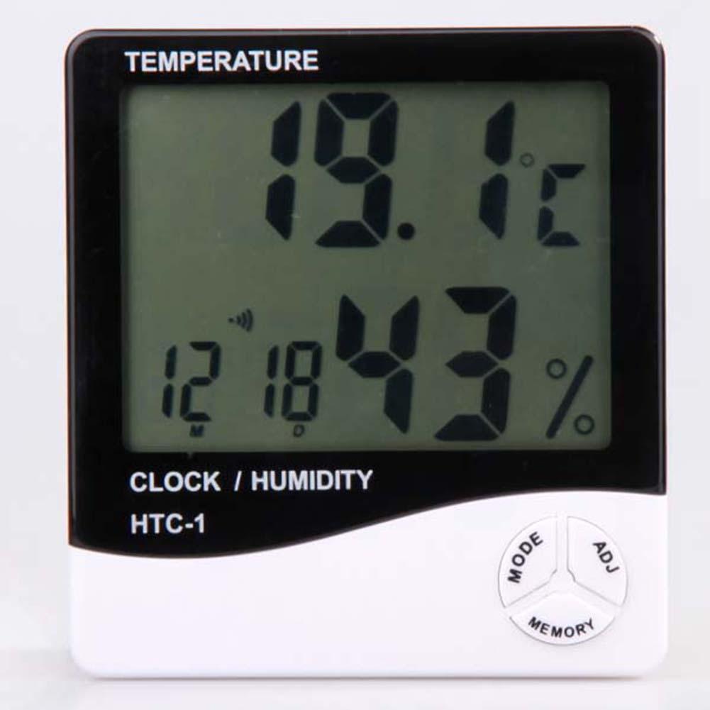 Temperature Humidity Meter : Lcd digital temperature humidity meter thermometer new ebay