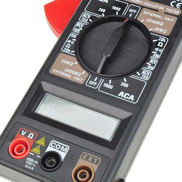Clamp Meter Accessories : Digital clamp meter accessories available v