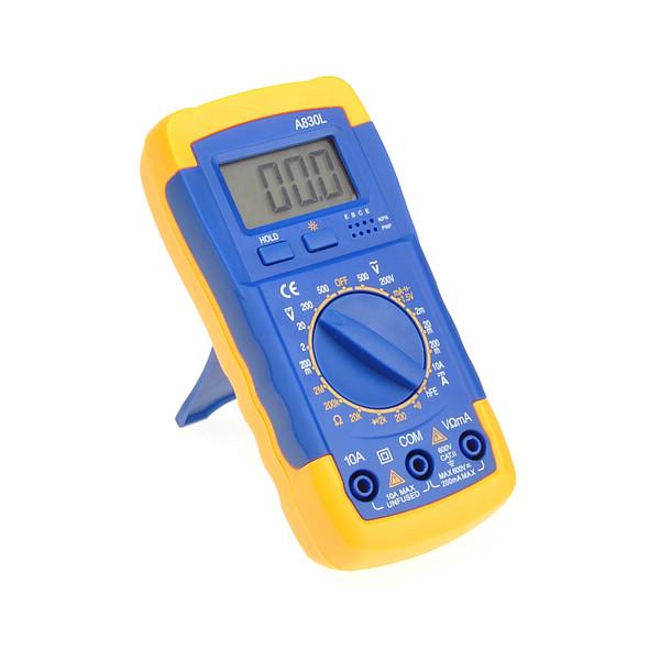 Hand Held Tester : A l mini pocket hand held digital multimeter volt ohm