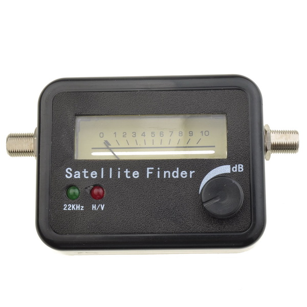 finder meter directv dish fta hd monitors signal strength meter