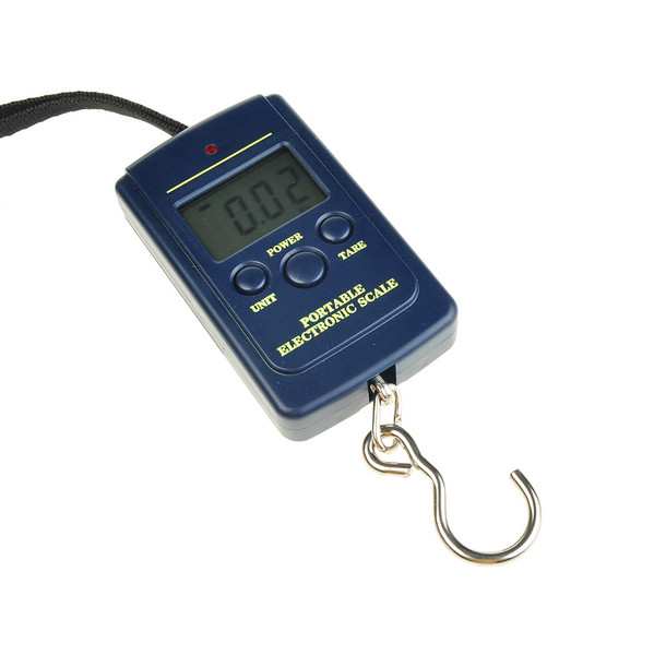 Portable pocket digital fish hook luggage hanging weighing for Fish weight scale