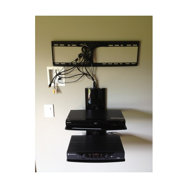 cheetah mounts as2b 2 shelf wall mount bracket for lcd led. Black Bedroom Furniture Sets. Home Design Ideas