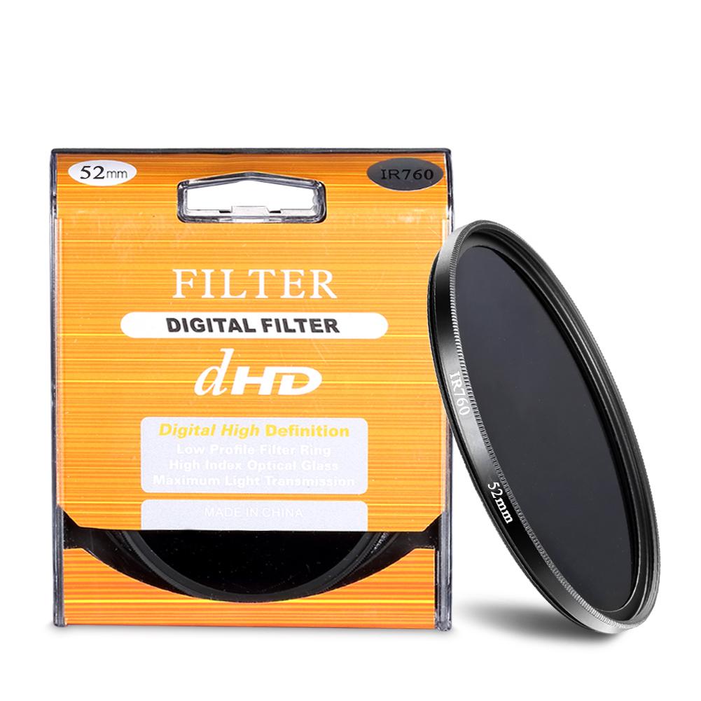 52mm IR760 Infrared Filter Ir Filter 52 MM Ir 760 dHD